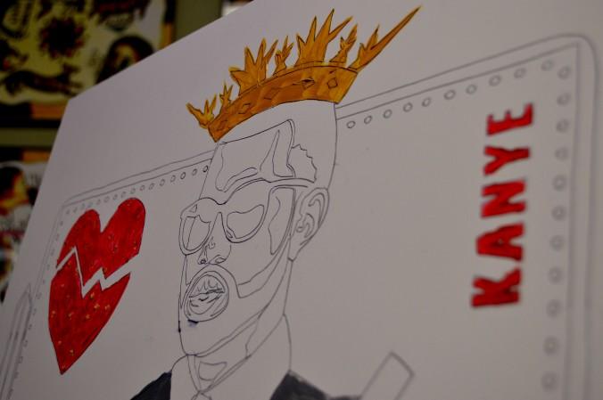 'King of Hearts' by Rob Jelinski closeup