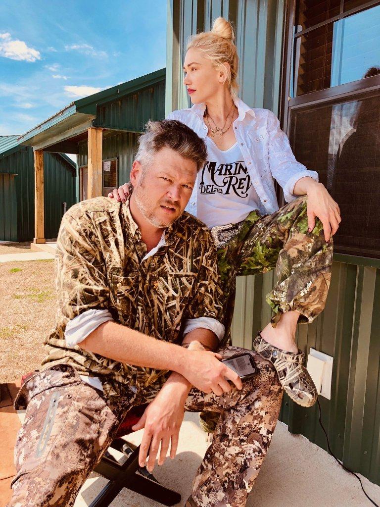 Blake Shelton Mullet Gwen Stefani The Voice celebrity haircuts
