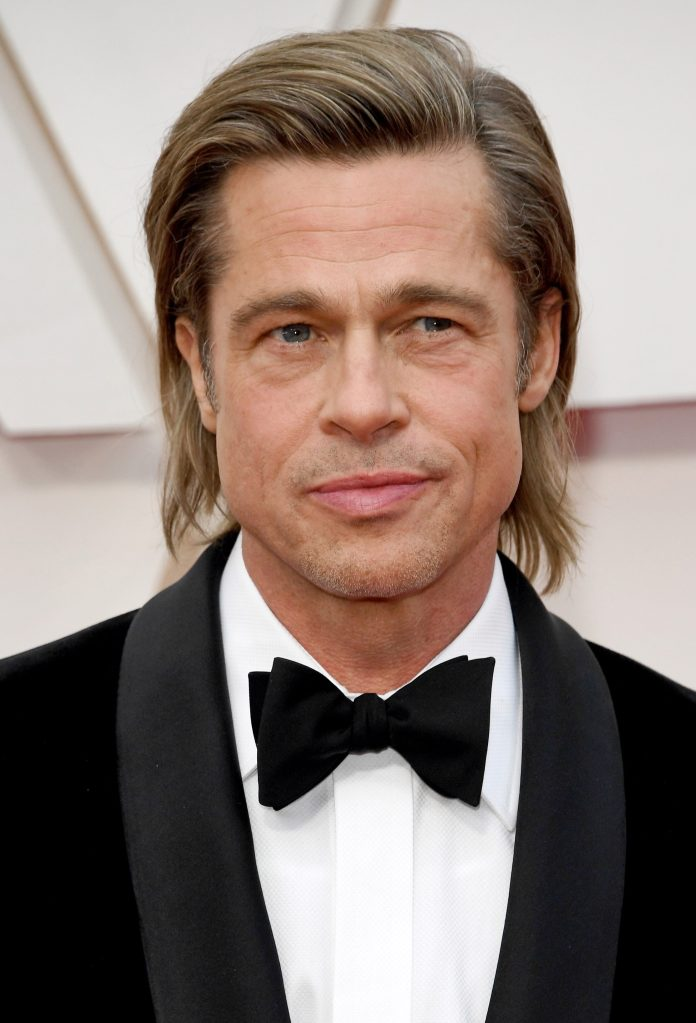 Brad Pitt Mullet celebrity haircuts