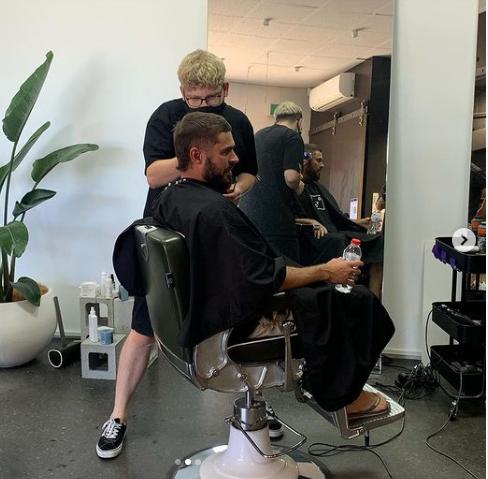 Zac Efron Mullet Australia celebrity haircuts